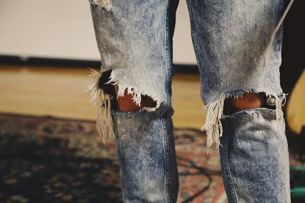 Pantalones Rotos Hombre Las Mejores Ofertas En Vaqueros Rotos