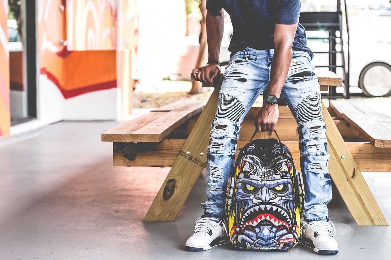 Pantalones Rotos Jeans Vaqueros Y Tejanos Rotos De Mujer Y Hombre