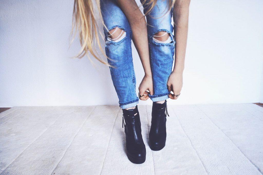 Pantalones rotos para mujer bbb04b9303b4